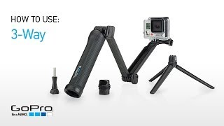 GoPro: Introducing 3-Way Grip | Arm | Tripod
