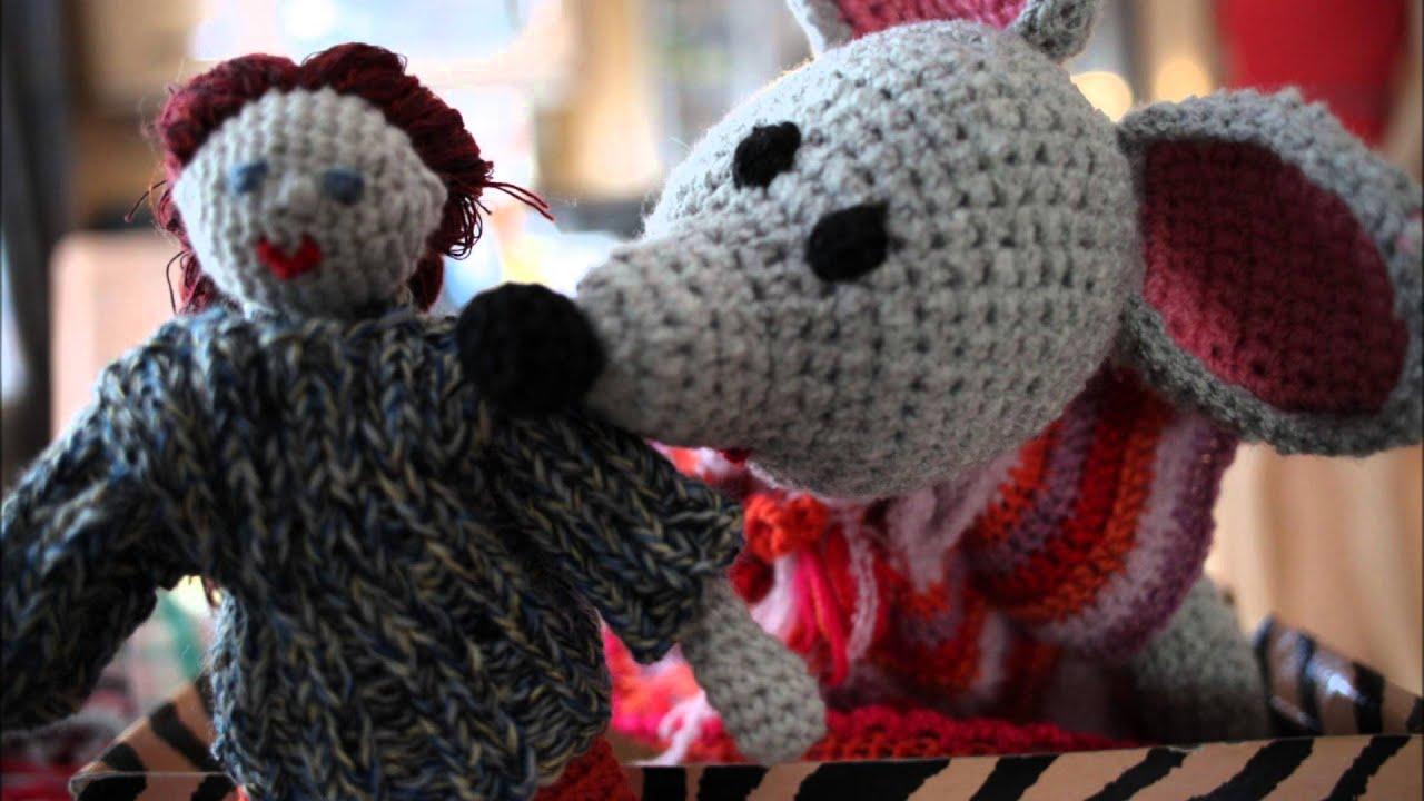 Häkeln - Crochet - Puppe und Maus - YouTube