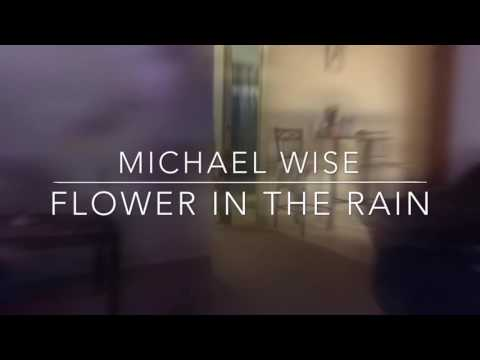 Mike Wise Flower in the rain