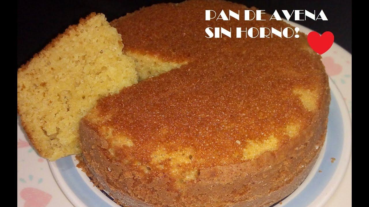 Pan Pastel De Avena En Sartén Economico Facilito Panqueque Youtube