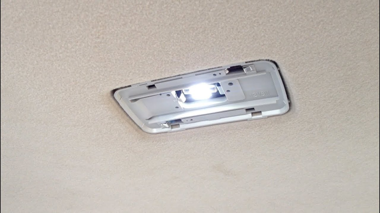 How To Install Led Bulbs Toyota Corolla 2003 2008 Youtube