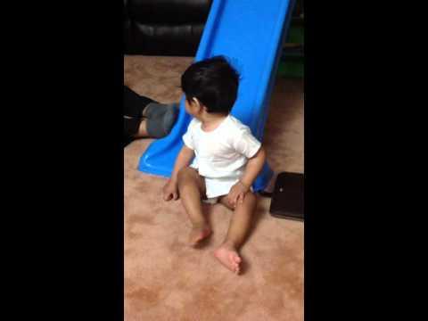 Baby dancing on DJ Bravo champion song