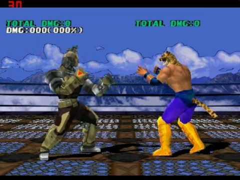 Tekken 3 Gun Jack Power 157 Damage Counter Attack Epsxe Youtube