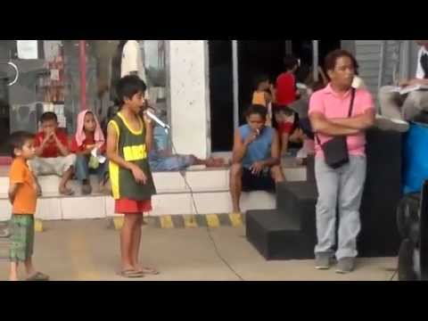 A Poor Street Child Has AMAZING Voice (I Will Always Love You Song)