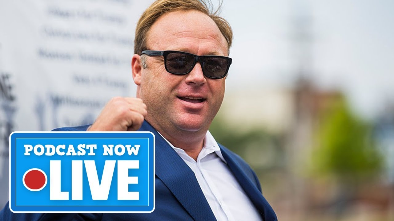 What The Censorship Of Alex Jones & InfoWars Means - Podcast Now Live Ep.90 (T.2)