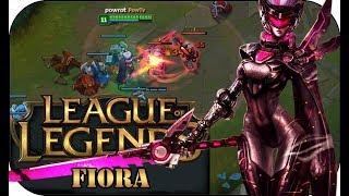 DIESER PENTA KLAU! FIORA TOP 🎮 League of Legends Gameplay PowrotTV