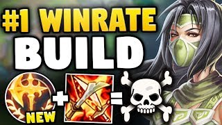 THE NEW #1 AKALI BUILD HAS A 65% WINRATE!?! HOW?! SEASON 8 AKALI GAMEPLAY! - League of Legends