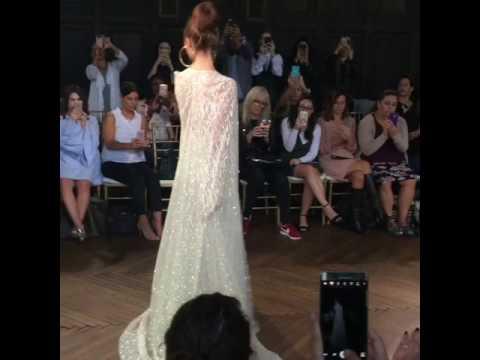 Bridal Trends - Capes at Berta Bridal NYBFW A/W '17