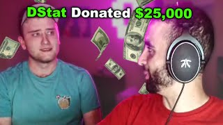 He Donated $25,000 Then Came To My House