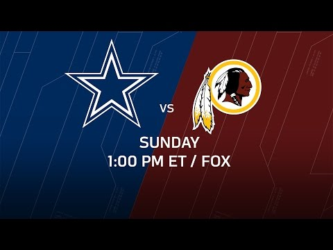 Cowboys vs Redskins (Week 2 Preview) | Around the NFL Podcast