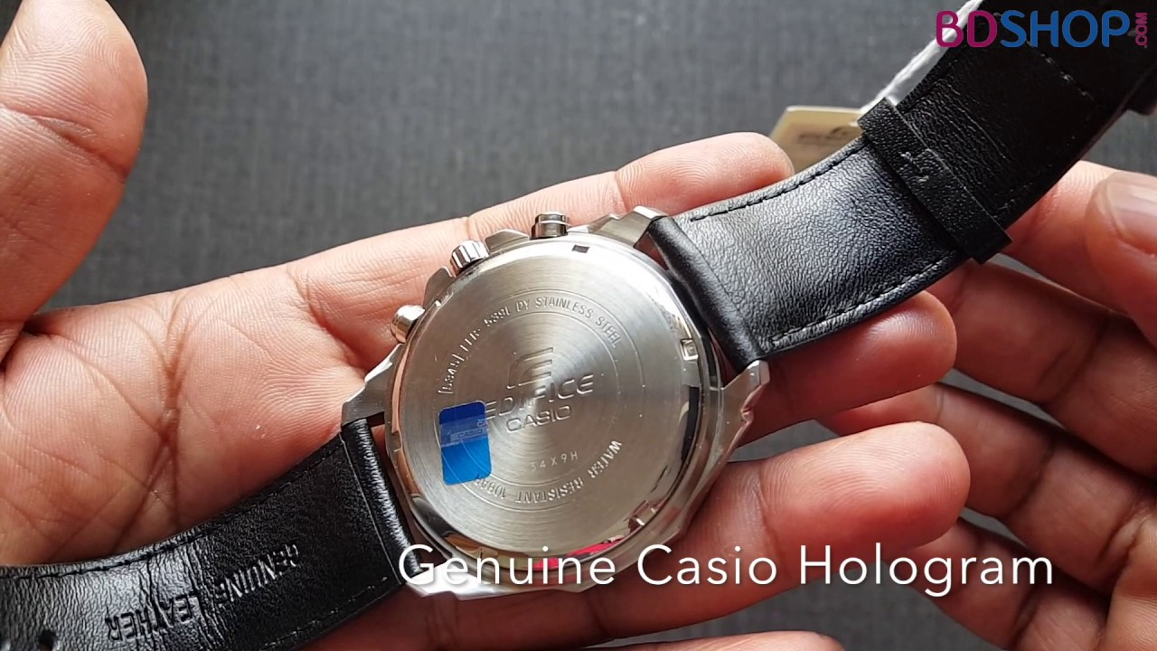 Original Casio Edifice Efr 539l 1av Unboxing Price In Bangladesh 539 L
