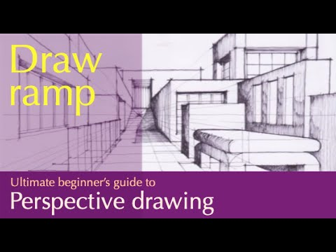 draw a street in one point perspective - YouTube