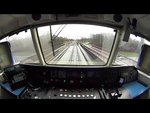 Live Trains 24/24: Train Driver's View: Cab Ride in the World Line Railway in all Weather!