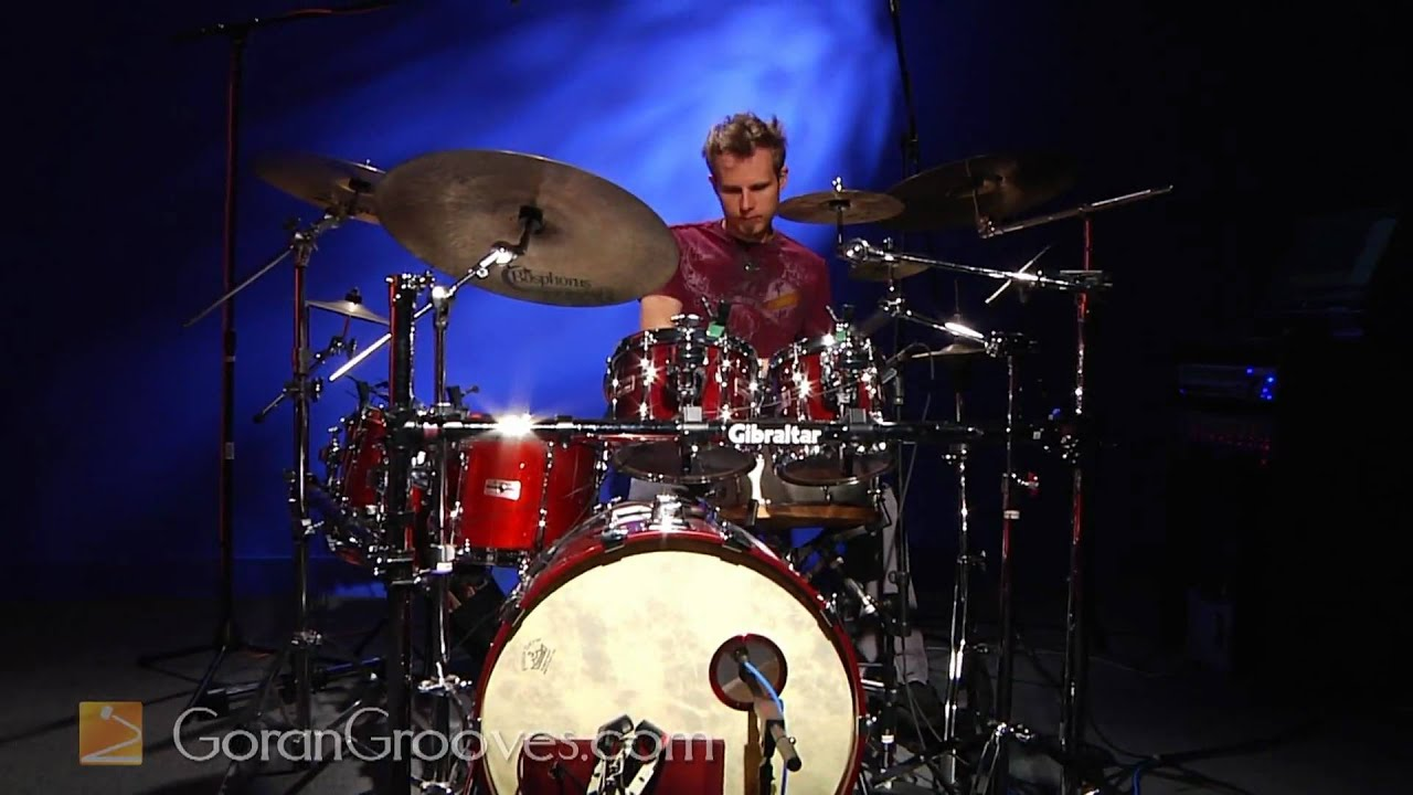 Goran Rista playing a 16th note Funk groove.