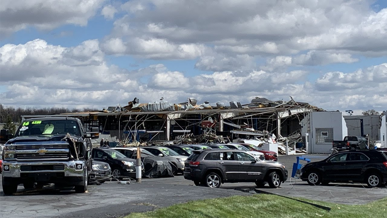 NWS: EF-2 tornado with winds up to 125 mph hit Shelby, Ohio