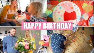 Paulines 3. Geburtstag | Peppa Wutz Party mit der ganzen Familie | Isabeau