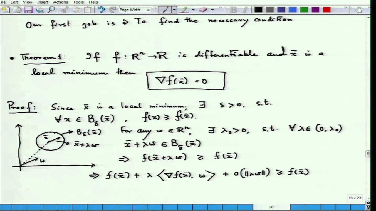 Mod-01 Lec-03 Optimization