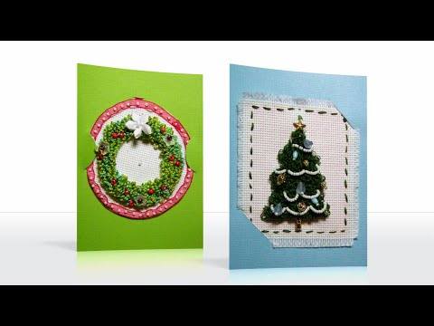How To Make A Holiday Punchneedle Ornament Youtube