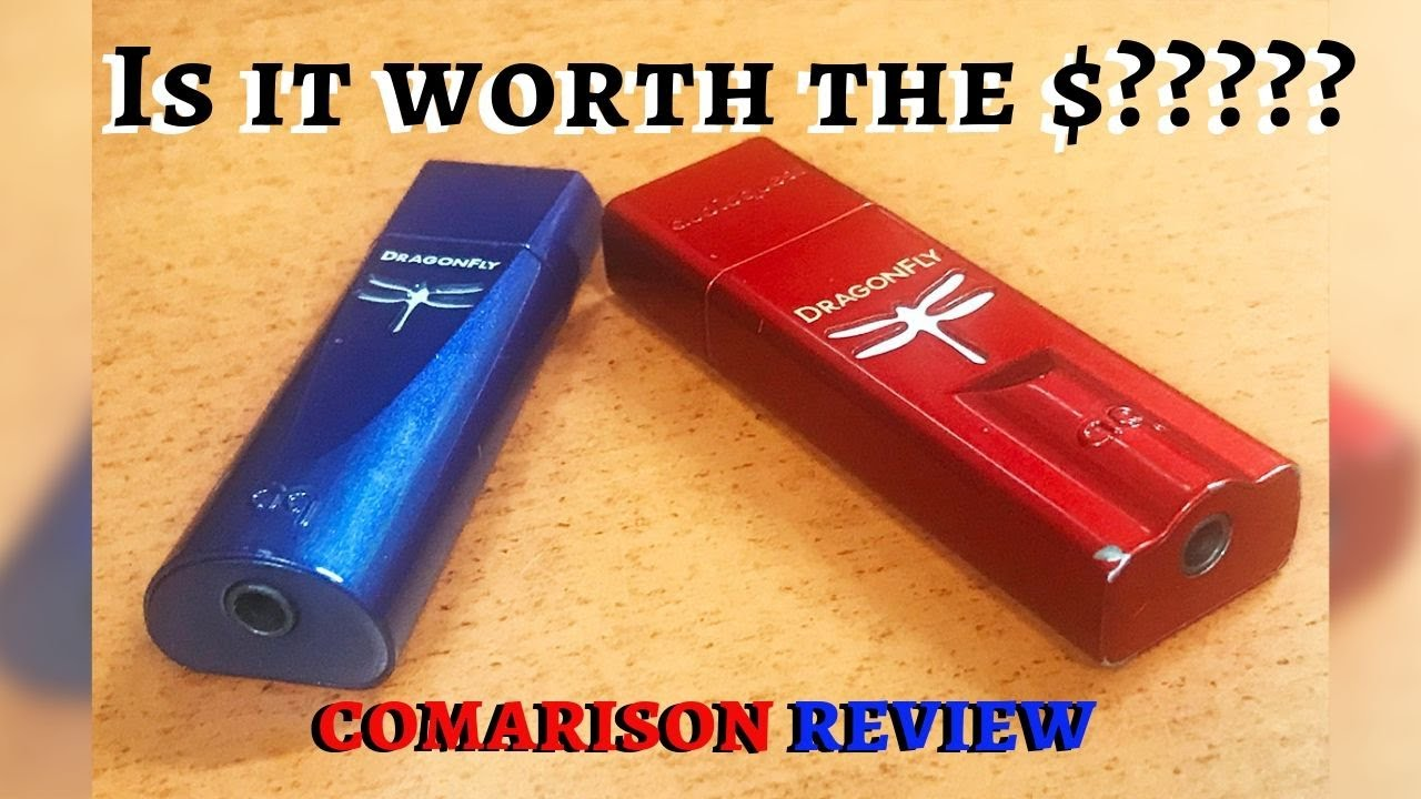Good Sound EVERYWHERE? Dragonfly Cobalt vs Dragonfly Red Comparison Review