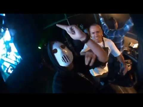 Angerfist - The Deadfaced Dimension (Video Clip)