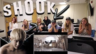 COLLEGE CLASS REACTS TO BTS - BLOOD SWEAT & TEARS | THEY WERE SHOOK | NON KPOP FANS REACT