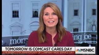 MSNBC Runs 7-Minute Puff Piece Praising Comcast