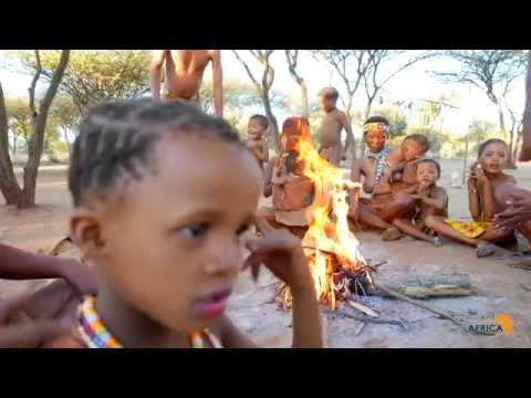 How are the San Bushmen in Namibia really like?
