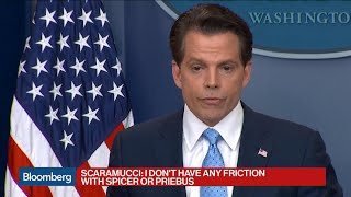 Scaramucci Says He Has Enormous Respect for Bannon