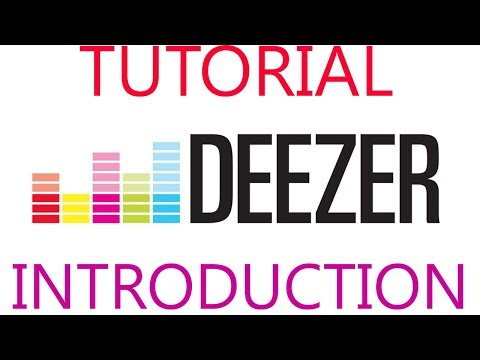 DEEZER: BEST MUSIC STREAMING SERVICE. Short tutorial and introduction.