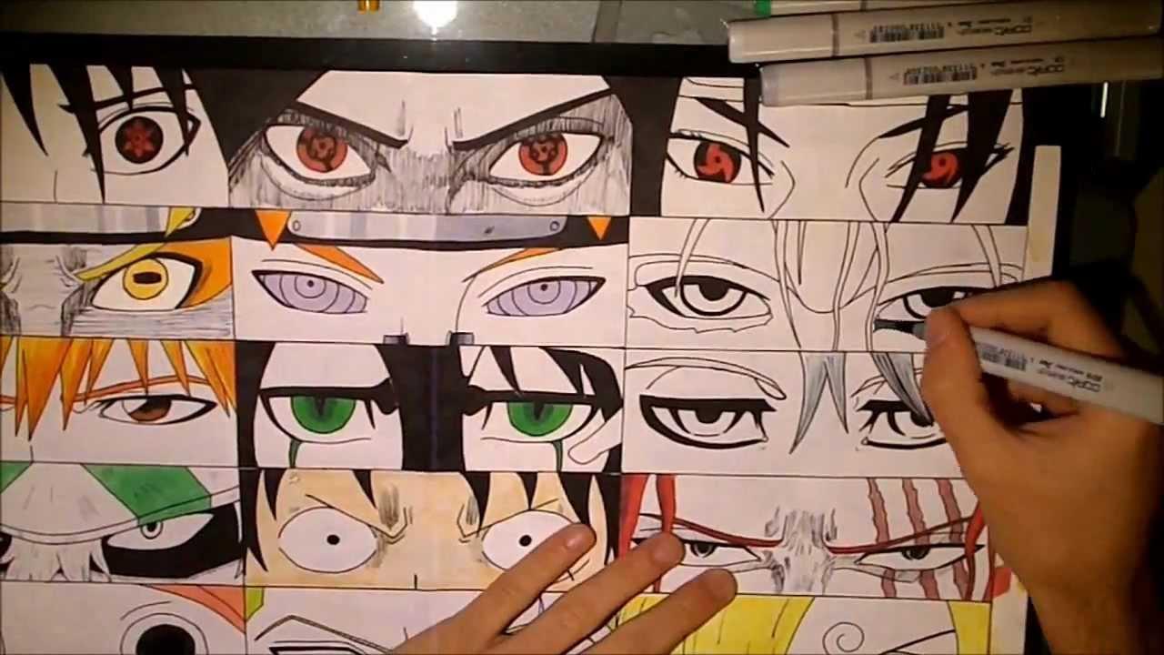 Comment J'ai Dessin� Des Yeux Manga