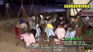 EXO Line Surpline - 10 seconds talk show