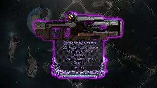 Warframe - Opticor Acricron - Oh My...
