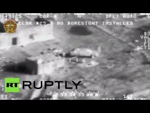 Combat Cam: Iraq military airstrikes annihilate ISIS positions