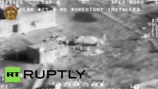 Combat Cam: Iraq military airstrikes annihilate ISIS positions