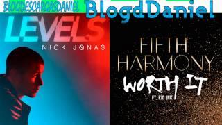 (TEASER) Fifth Harmony VS Nick Jonas - Worth It Levels ft. Kid Ink (mashup)