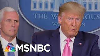 Trump Gives 'Incoherent' Briefing On Coronavirus, Contradicts CDC - Day That Was | MSNBC