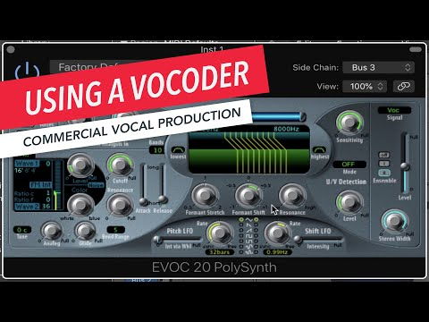Music Production | Using a Vocoder on a Vocal Track | Prince Charles Alexander | Berklee Online