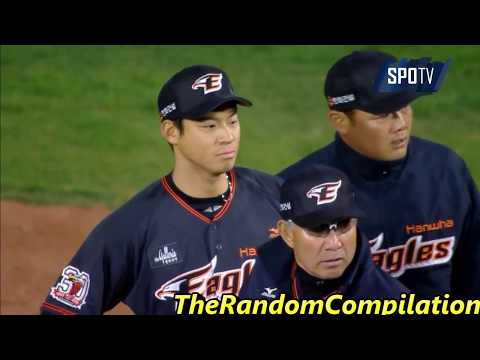 Korean Baseball Bench Clearing Compilation Part 1