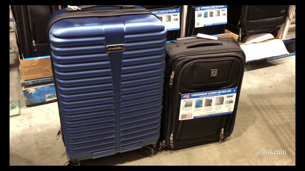 Ful Underseat Roller Luggage At Costco First Look