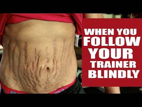 When you follow your trainer blindly