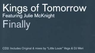 Download Kings of Tomorrow - Finally [Original Radio Edit] MP3 song and Music Video