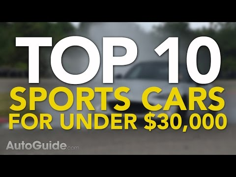10 Best Sports Cars Under $30,000