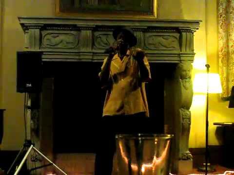 W  Allen Taylor singing at the Berkeley City Club in October 2010