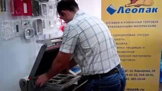 ООО ТД Леопак запайка контейнеров ПЭТ СпК-1409 пленка РЕТ/РЕ-peel легкое открытие