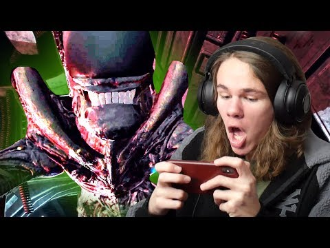 ALIEN, BUT ITS A MOBILE GAME?! | Alien Blackout
