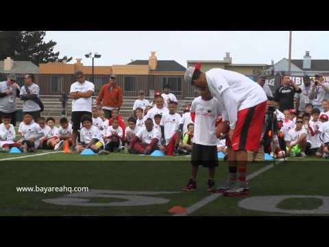 7-Year-Old Catches Touchdown from Colin Kaepernick, Celebrates in Style