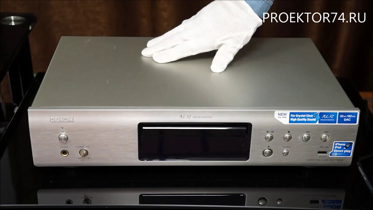 CD Denon DCD-720AE Black