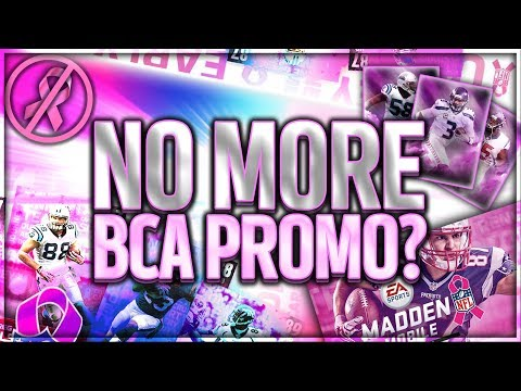 BCA 18 PROMO is NOT COMING?! + GOOGLE LOGIN ISSUES?! & All-Madden Tournament Talk