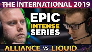 LIQUID vs ALLIANCE - INTENSE SERIES! WHO IS DOING IT? WHO IS BACK? #TI9 THE INTERNATIONAL 2019 DOTA2