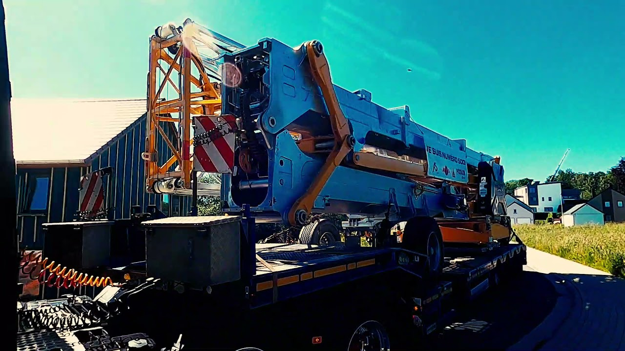 Delivery of the 500th Potain in Belgium by BLE NV
